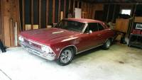 1966 Chevrolet Chevelle SS396-Driver Quality