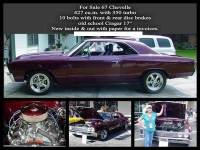 1967 Chevrolet Chevelle 427 BIG BLOCK POWER-FROM FLORIDA