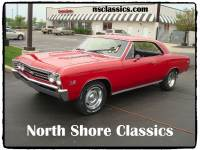 1967 Chevrolet Chevelle SS-NEW RED PAINT-ALL ORIGINAL NUMBERS MATCHING- SEE VIDEO
