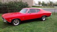 1968 Chevrolet Chevelle -NICE PAINT-FROM TEXAS-RUST FREE CAR-