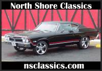 1968 Chevrolet Chevelle SS396-CONCOURSE SILVER SPINNER AWARD-FRAME OFF RESTO-REAL DEAL-SEE VIDEO