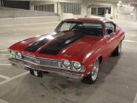 1968 Chevrolet Chevelle -BIG BLOCK 454 WITH ALUMINUM HEADS-MSD IGNITION-STREET BRUISER-