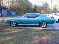 1968 Chevrolet Chevelle 2 DOOR POST- NO RUST