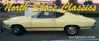 1968 Chevrolet Chevelle SS Butternut Yellow