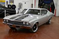 1969 Chevrolet Chevelle -SS396-SUPER SPORT-FRAME OFF RESTORED-REAL 69 CORTEZ SILVER-WITH 4 SPEED