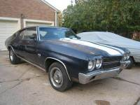 1970 Chevrolet Chevelle SS-GM of Canada Documented-PROJECT CAR