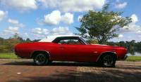 1970 Chevrolet Chevelle SS REAL SUPER SPORT CONVERTIBLE-FRAME OFF RESTORED