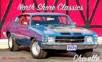 1971 Chevrolet Chevelle 375 HP-SS Look-2nd Owner-MARINA BLUE-SEE VIDEO NOW