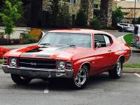 1971 Chevrolet Chevelle -SS Trim NICE RED PAINT-GREAT RELIABLE MUSCLE CAR- SEE VIDEO