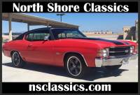 1971 Chevrolet Chevelle -CALIFORNIA CLASSIC-FACTORY BUCKET SEATS- SOLID CAR