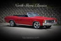 1972 Chevrolet Chevelle -FACTORY 72 CODE-RECENT FRAME UP RESTORATION-SOLID CONVERTIBLE- SEE VIDEO
