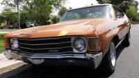1972 Chevrolet Chevelle ROCK SOLID RUST FREE ARIZONA-NUMBERS MATCHING