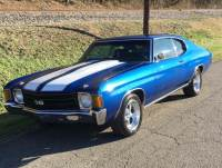 1972 Chevrolet Chevelle 2nd Generation Malibu with SS appearance package-factory L65-great color-