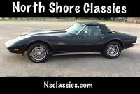 1973 Chevrolet Corvette -Numbers Matching L48 Black Convertible-