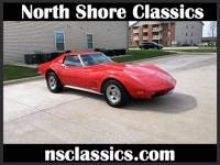 1973 Chevrolet Corvette -4 SPEED MANUAL- 350 V8 - T-TOPS-