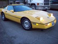 1986 Chevrolet Corvette FUEL INJECTED