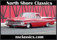 1959 Chevrolet El Camino SLAMMED-Supercharged Big block 454-AIR RIDE- SEE VIDEO