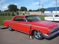 1962 Chevrolet Impala SS-AC INSTALLED-LOW AND KOOL RIDE-PRO TOURING STYLE-FREE SHIPPING