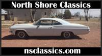 1965 Chevrolet Impala - SUPER SPORT- 327 V8 WITH POWER GLIDE-
