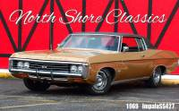 1969 Chevrolet Impala SS427 Coupe-1 of 51 Built-VERY RARE-SEE VIDEO
