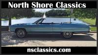 1971 Chevrolet Impala -CONVERTIBLE- NUMBERS MATCHING 400/400