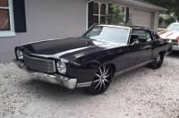 1970 Chevrolet Monte Carlo SS BIG BLOCK-BLACK ON BLACK