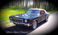 1971 Chevrolet Monte Carlo -RESTORED CONDITION-ONE OF A KIND-CUSTOM CLASSIC CAR-