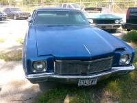 1971 Chevrolet Monte Carlo RUNNING PROJECT CAR-WE CAN BUILD FOR YOU