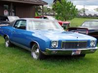 1971 Chevrolet Monte Carlo CLEAN BOWTIE-DRIVES GREAT-FACTORY AC CAR-SEE VIDEO