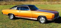 1972 Chevrolet Monte Carlo Super Clean from Tennessee-VERY SOLID H CODE CAR