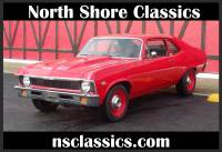 1968 Chevrolet Nova -NEW VIPER RED PAINT-383 STROKER-FROM TEXAS-COPO LOOK-SOLID- SEE VIDEO