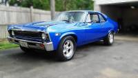 1968 Chevrolet Nova -2nd Generation Clean Restored 383 Engine-Nice Paint-SEE VIDEO