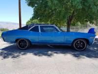 1969 Chevrolet Nova -FUEL INJECTED-PRO TOURING-AC UNIT-NEWER LEMANS BLUE PAINT-CALIFORNIA CAR-
