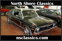 1970 Chevrolet Nova BLACK ON BLACK SLEEPER WITH SS UPGRADES-GREAT PAINT-READY TO ROLL!