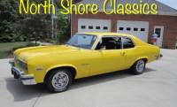 1974 Chevrolet Nova CUSTOM HATCHBACK CLASSIC CAR YELLOW AUTOMATIC