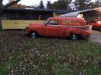 1950 Chevrolet Sedan Delivery RUSTY PROJECT CAR