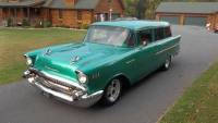 1957 Chevrolet Wagon 2 DOOR-RESTORED-FREE SHIPPING