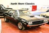 1970 Dodge Challenger -BLACK ON BLACK-360- FRESH RESTORED-NEW JET BLACK PAINT-SHAKER HOOD-