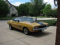 1973 Dodge Challenger NUMBERS MATCHING WITH FENDER TAG-FREE SHIPPING