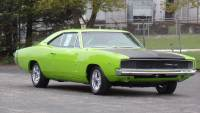 1968 Dodge Charger SUB LIME 2nd GENERATION MOPAR READY FOR THE CAR SHOWS-SEE VIDEOS