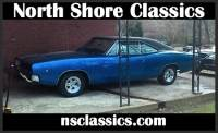 1968 Dodge Charger -R/T CLONE-BIG BLOCK 440-VIPER BLUE-H PIPE EXHAUST-