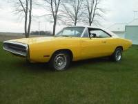 1970 Dodge Charger CURIOUS YELLOW
