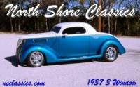 1937 Ford 3 Window Coupe Finest '37 Around!-NEW LOW PRICE