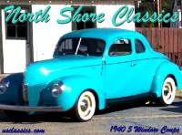 1940 Ford 5 Window Coupe Gorgeous Classic