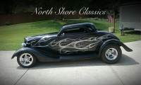 1934 Ford Coupe -SHOW QUALITY FIBERGLASS 3 WINDOW COUPE-REAL HIGH END BUILD-