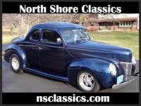 1940 Ford Deluxe - MIDNIGHT BLUE WITH GHOST FLAMES-