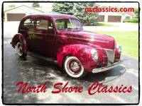 1940 Ford Deluxe -OLD SCHOOL STREET ROD- FULL RESTORATION-