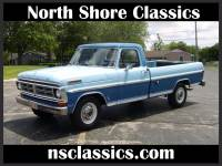 1972 Ford F250 -SPORT CUSTOM PICKUP TRUCK- 3 TONE BLUE -