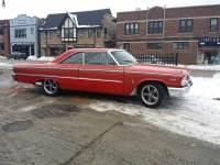 1963 Ford Galaxie 63 1/2 car FASTBACK