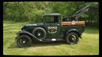 1930 Ford Model A -PICK UP TOW TRUCK- READY FOR SHOW